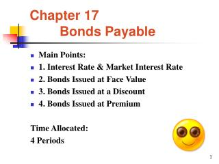 Chapter 17         Bonds Payable