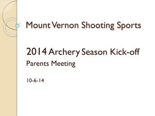Mount Vernon Shooting Sports