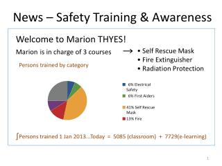 News –  Safety  Training &  Awareness