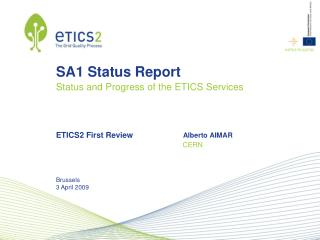 SA1 Status Report