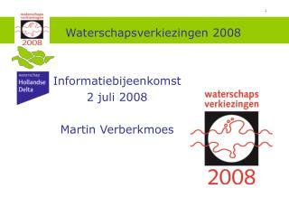 Waterschapsverkiezingen 2008