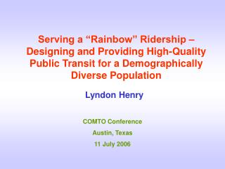 Lyndon Henry