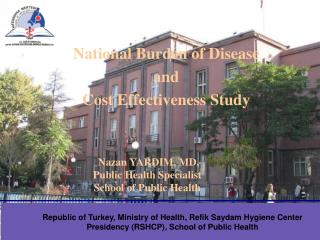 Nazan YARDIM, MD,  Public Health Specialist  School of Public Health