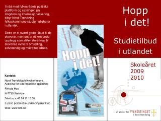 Hopp   i det! Studietilbud  i utlandet