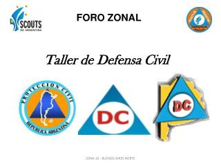Taller de Defensa Civil