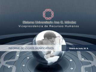 INFORME DE LOGROS SIGNIFICATIVOS