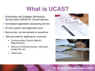 What is UCAS?