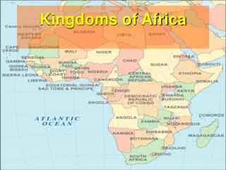 Kingdoms of Africa