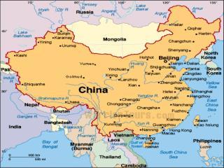 The three main courses of Yangtze river