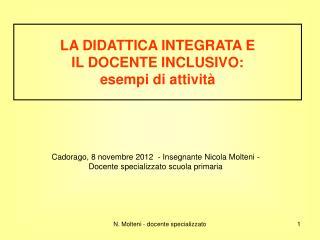 N. Molteni - docente specializzato