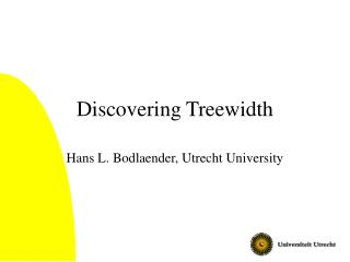 Discovering Treewidth