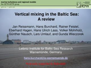 Jan Reissmann, Hans Burchard, Rainer Feistel, Eberhard Hagen, Hans Ulrich Lass, Volker Mohrholz,