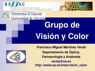 Grupo de Visión y Color