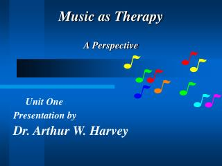 Music as Therapy A Perspective