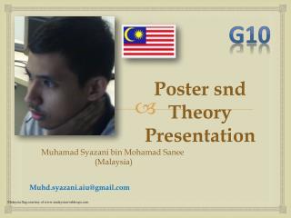 Muhamad Syazani  bin Mohamad  Sanee  (Malaysia)