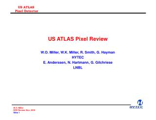 US ATLAS Pixel Review