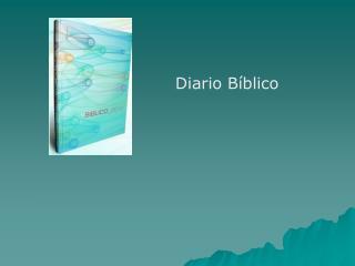 Diario B blico