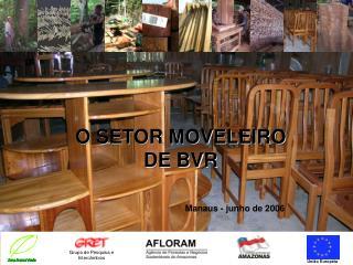 O SETOR MOVELEIRO  DE BVR