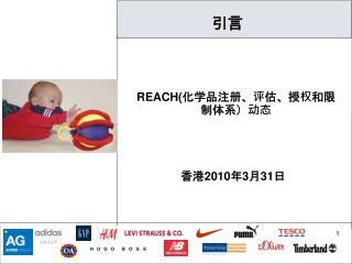 REACH ( 化学品注册、评估、授权和限制体系)动态