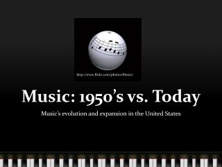 Music: 1950's vs. Today