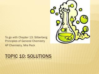 Topic 10: Solutions