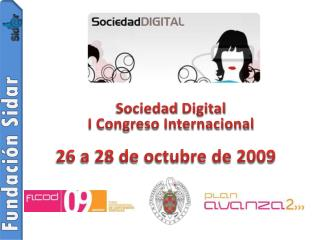 Sociedad  Digital I Congreso Internacional
