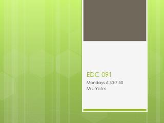 EDC  091