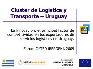 Cluster de Logística y Transporte – Uruguay