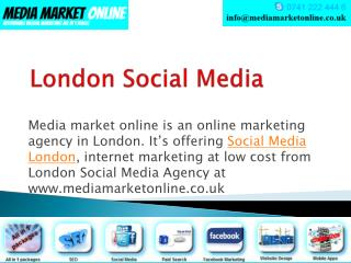 Media Market Online Agency in London