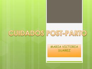 MARIA VICTORIA SUAREZ