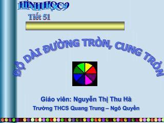 Giáo viên: Nguyễn Thị Thu Hà