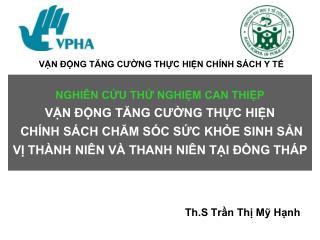 Th.S Trần Thị Mỹ Hạnh