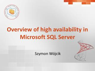 Overview of high availability in Microsoft SQL Server