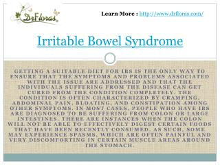 Irritable Bowel Syndrome Treatment