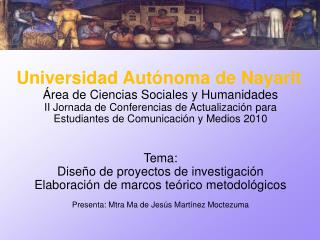 Área de Ciencias Sociales y Humanidades
