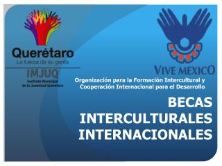 BECAS INTERCULTURALES INTERNACIONALES