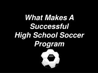 What Makes A Successful