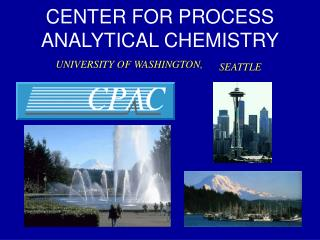 CENTER FOR PROCESS ANALYTICAL CHEMISTRY