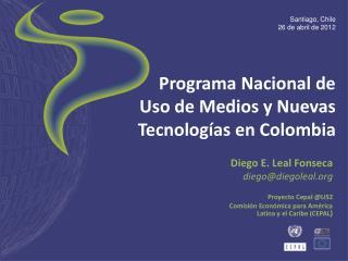 Programa Nacional de Uso de Medios y Nuevas Tecnologías en Colombia