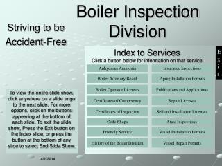 Boiler Inspection Division