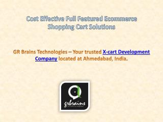Cost Effective Full Featured Ecommerce Shopping Cart Solutio