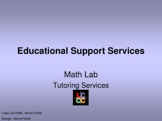 Educational Support Services