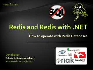 Redis and Redis with .NET