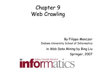Chapter 9 Web Crawling
