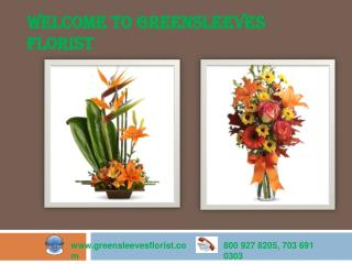 Wedding Flower Supplier in Virginia - Greensleeves Florist