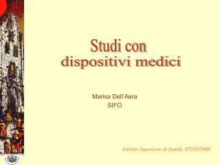 Marisa Dell'Aera  SIFO