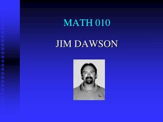 MATH 010