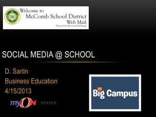 Social Media @ School