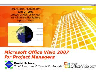 Microsoft Office Visio 2007  for Project Managers