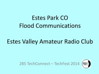 285  TechConnect  –  TechFest  2014